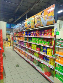 超市货架望板制作