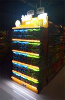 超市货架设计与制作