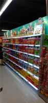 超市发光货架制作