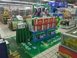 石家庄超市堆头制作公司