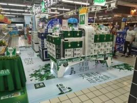 超市堆头制作公司